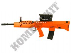 HA-202B SA80 Replica Airsoft Rifle Spring BB Gun Orange Black 2 Tone